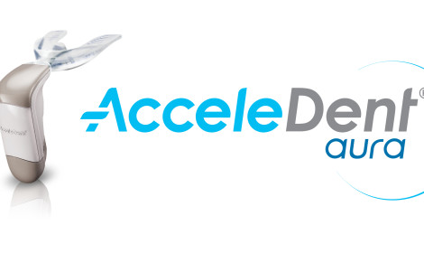 AcceleDent is a gentle vibrational device that supports orthodontic treatment by reducing treatment time.