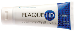 PlaqueHD shows you trouble spots around your braces so you can brush more carefully.